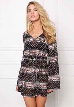 Rut & Circle Keira Dress 800 Black Comb Bubbleroom.se