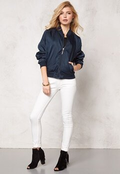 Rut & Circle Lina Bomber Jacket Dk Navy Bubbleroom.se