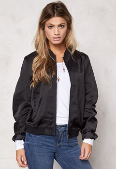 Rut & Circle Linda Bomber Jacket Black Bubbleroom.se