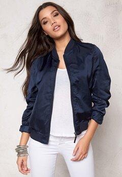 Rut & Circle Linda Bomber Jacket Dk Navy Bubbleroom.se