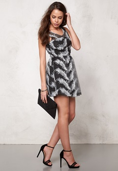 Rut & Circle Michelle Dress Black/White Bubbleroom.se