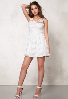 Rut & Circle Michelle Dress White Bubbleroom.se
