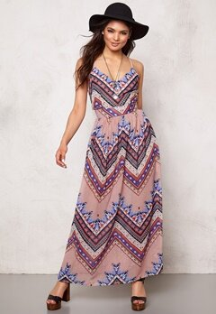 Rut & Circle Millie Long Dress Sharp Comb Bubbleroom.se