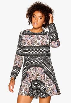 Rut & Circle Must Ellinor dress Black Comb Bubbleroom.se