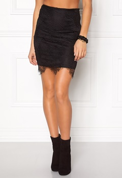 Rut & Circle Nadia lace skirt 001 Black Bubbleroom.se