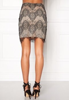 Rut & Circle Nadia lace skirt 516 Champagne Bubbleroom.se