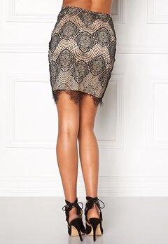 Rut & Circle Nadia lace skirt 516 Champagne Bubbleroom.se