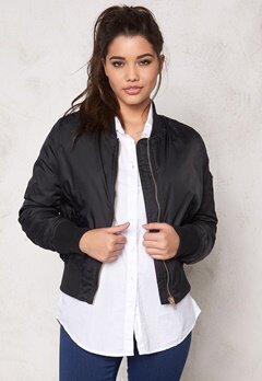 Rut & Circle New Kate Bomber Jacket Black/Gold Bubbleroom.se
