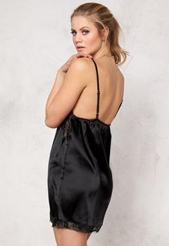 Rut & Circle Sabina Lace Night Dress 001 Black Bubbleroom.se