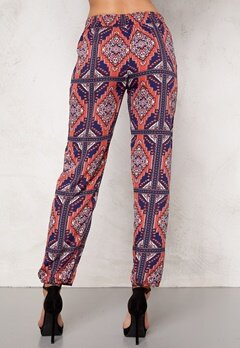 Rut & Circle Sasha Pant Blue/Red Bubbleroom.se