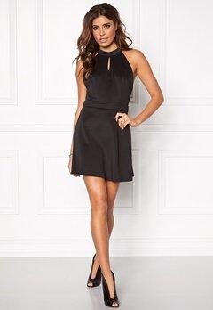 Rut & Circle Siri back lace dress 001 Black Bubbleroom.se