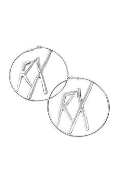 RX Halo Earrings Silver Bubbleroom.se
