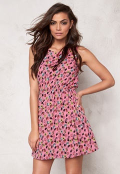 Sally & Circle Candy Dress Pink Comb Bubbleroom.se