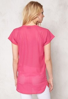 Sally & Circle Moa Basket Long Tee Fuchsia Bubbleroom.se