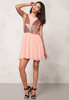 Sally & Circle Nina Party Dress 894 Powder Pink Bubbleroom.se