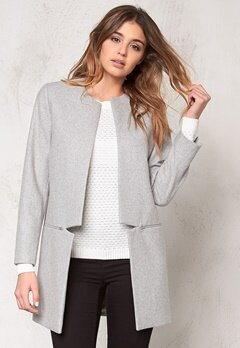 Samsøe & Samsøe Hahn jacket Light grey m Bubbleroom.se