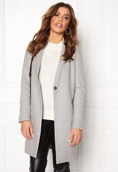 Samsøe & Samsøe Kahlia Jacket Light Grey Bubbleroom.se
