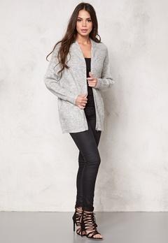 Samsøe & Samsøe Lauri zip jacket White melange Bubbleroom.se