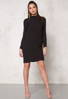 Samsøe & Samsøe Theta t-neck dress Black Bubbleroom.se