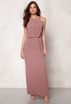 Samsøe & Samsøe Willow dress long Twilight Mauve Bubbleroom.se