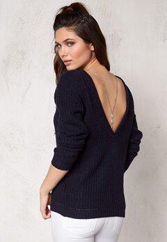 Make Way Savannah Sweater Dark blue Bubbleroom.se