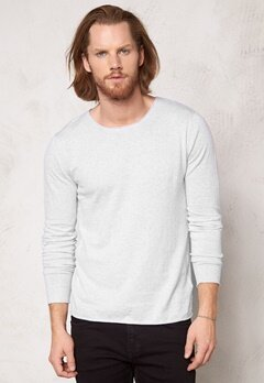 SELECTED HOMME Dome Crew Neck Snow White Bubbleroom.se