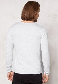 SELECTED HOMME Dome Crew Neck Noos Snow White Bubbleroom.fi