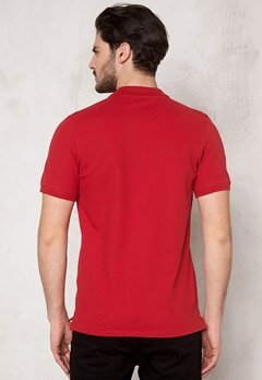 SELECTED HOMME Aro SS Embroidery Polo True Red Bubbleroom.se