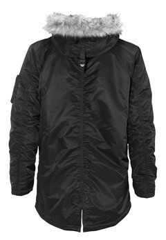 SELECTED HOMME Chad Parka Black Bubbleroom.fi