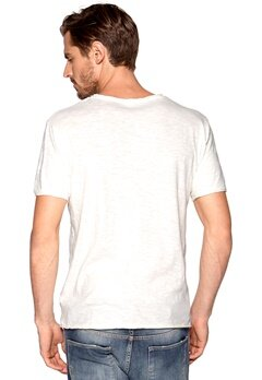 SELECTED HOMME City ss O-neck Egret Bubbleroom.se
