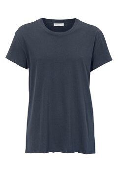 SELECTED HOMME Dean SS O-neck Tee Blue Nights Bubbleroom.se