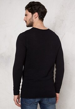 SELECTED HOMME Gary Crew Neck Black Bubbleroom.se