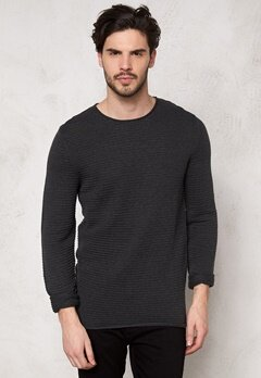 SELECTED HOMME Gary Crew Neck Dark Grey Bubbleroom.se