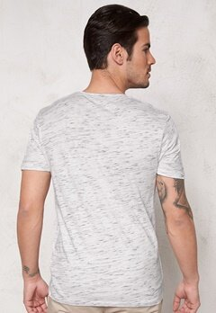 SELECTED HOMME Indi SS O-Neck Tee Bright White Bubbleroom.fi