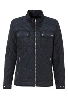 SELECTED HOMME John Quilted Jacket Dark Navy Bubbleroom.fi