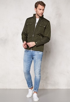 SELECTED HOMME John Quilted Jacket Forest Night Bubbleroom.se