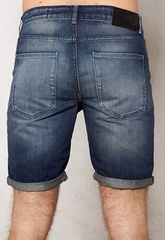 SELECTED HOMME Nalex 1029 Shorts Dark Blue Denim Bubbleroom.se