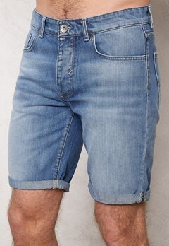 SELECTED HOMME Nalex 1029 Shorts Lt Blue Denim Bubbleroom.se
