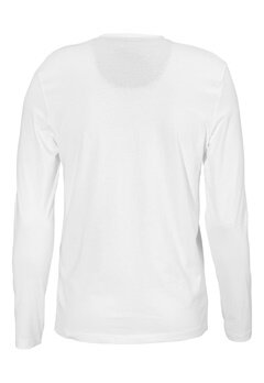 SELECTED HOMME Niklas LS Split Neck Bright White Bubbleroom.se