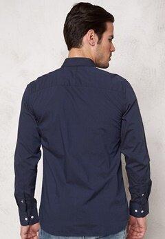 SELECTED HOMME One Fil Shirt LS Noos Navy Blazer Bubbleroom.fi
