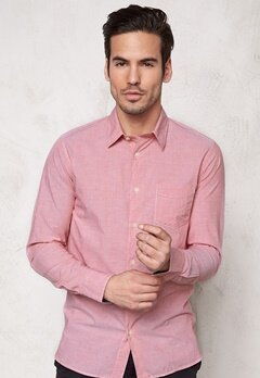 SELECTED HOMME One Fil Shirt LS Red Dahlia Bubbleroom.fi