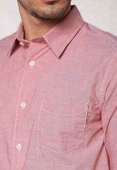 SELECTED HOMME One Fil Shirt LS Red Dahlia Bubbleroom.se
