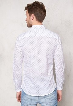 SELECTED HOMME One Haze Shirt Bright White Bubbleroom.se