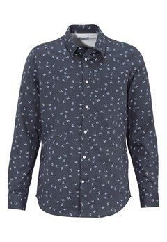 SELECTED HOMME One Karl Shirt Blue Nights Bubbleroom.fi