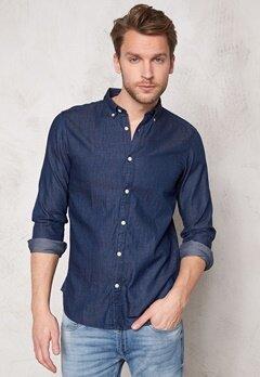 SELECTED HOMME One Nolan Shirt Dark Blue Bubbleroom.fi