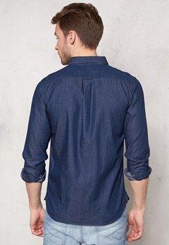 SELECTED HOMME One Nolan Shirt Dark Blue Bubbleroom.se