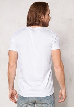 SELECTED HOMME Pima New Dave ss T-shirt Bright White Bubbleroom.fi