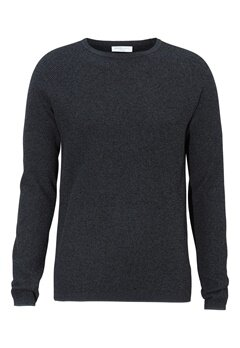 SELECTED HOMME Shane Crew Neck Blue Nights Bubbleroom.se