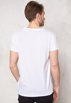 SELECTED HOMME Tristan ss O-neck Bright White Bubbleroom.fi