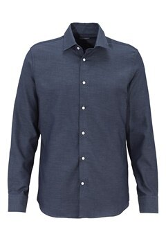 SELECTED HOMME Two Jim Shirt Classic Blue Bubbleroom.fi